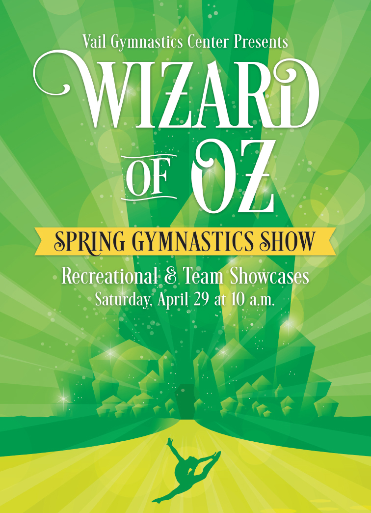 Wizard of Oz Spring Show poster