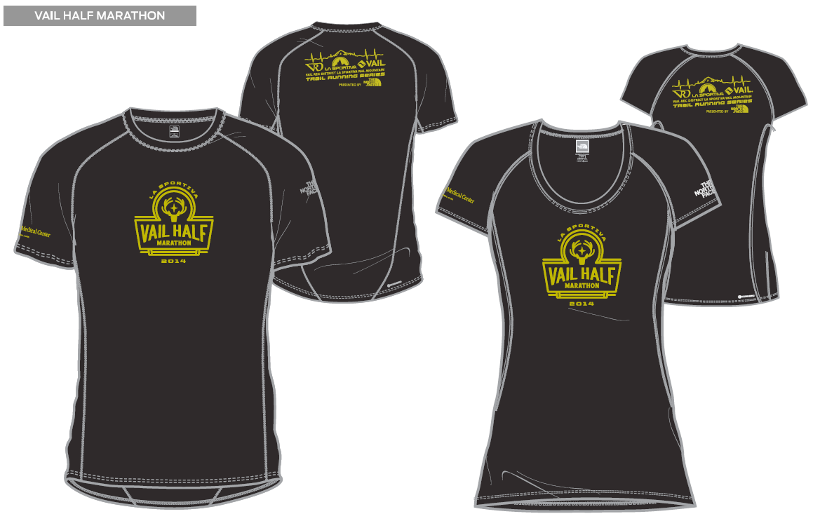 Half Marathon shirt design - FINAL